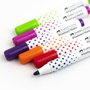 Faber Castell - Faber Castell Kids 6'lı Mini Beyaz Tahta Kalemi 35 85 06 1327 (1)