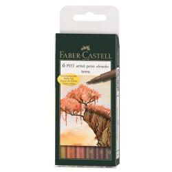 Faber Castell - Faber Castell Pıtt Artist Pen Terra