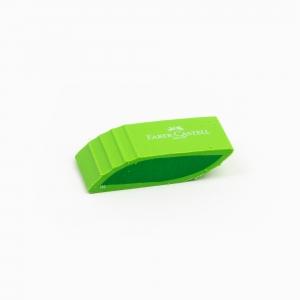 Faber Castell - Faber-Castell Shaped Eraser Silgi Yeşil 18 30 57 3604