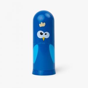 Faber Castell - Faber Castell Silgili Kalemtraş Mavi