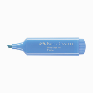 Faber Castell - Faber Castell Textliner 46 İşaretleme Kalemi Pastel Ultramarin 6689