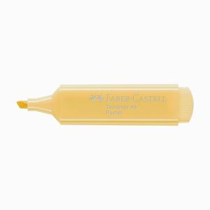 Faber Castell - Faber Castell Textliner 46 İşaretleme Kalemi Pastel Vanilya 6672