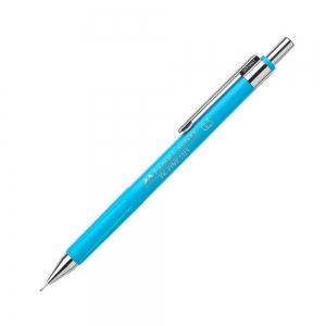 Faber Castell - Faber-Castell Tk-Fine 2315 0.5 mm Mekanik Kurşun Kalem Açık Mavi 5529