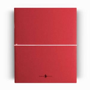 Fabio Ricci - Fabio Ricci Z Notes 2′li Çizgisiz Defter Kırmızı 5766