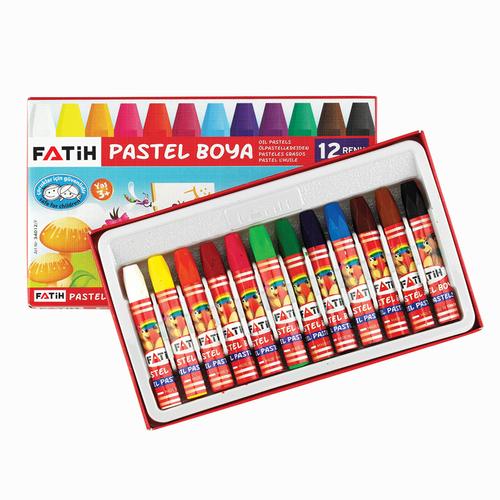 Fatih 12'li Pastel Boya Seti 0034