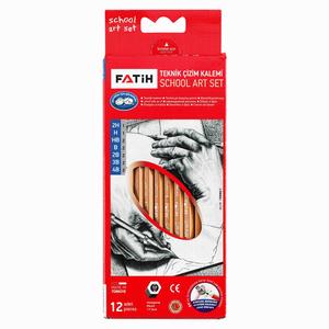 Fatih - Fatih 12'li Teknik Çizim Kalemi Okul Seti 0907