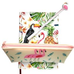 Deffter - Flamingo Set Beyaz