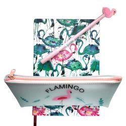 Deffter - Flamingo Set Pembe