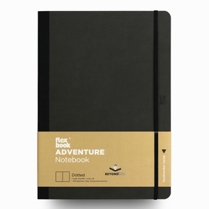 Flex Book - Flex Book Adventure Off-Black Dotted (Noktalı) Defter 17X24 cm 2180