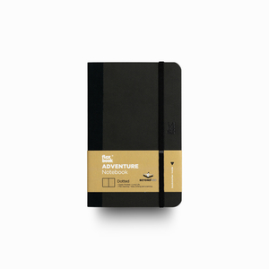 Flex Book - Flex Book Adventure Off-Black Dotted (Noktalı) Defter 9X14 cm 2203