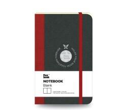 Flex Book - Flex Book Defter Çizgisiz A6 Kırmızı 1679
