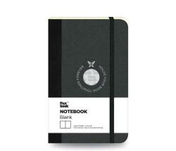 Flex Book - Flex Book Defter Çizgisiz A6 Siyah 1655