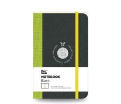 Flex Book - Flex Book Defter Çizgisiz A6 Yeşil