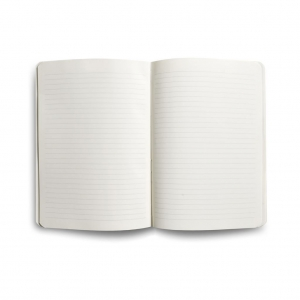 Flex Book - Flex Book Notebook Medium Çizgili Defter Siyah 1389 (1)