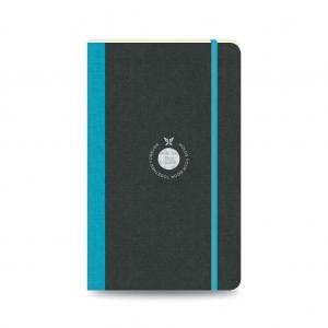 Flex Book - Flex Book Notebook Medium Çizgili Defter Turkuaz 2645 (1)