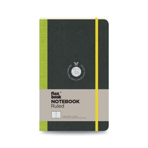 Flex Book Notebook Medium Çizgili Defter Yeşil 1549