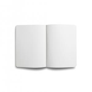 Flex Book - Flex Book Notebook Medium Çizgisiz Defter Kırmızı 1648 (1)