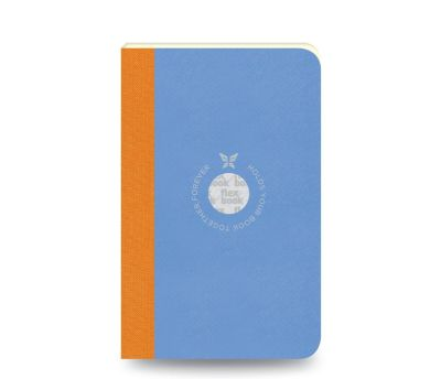 Flex Book Notebook Smartbook Small Çizgili Defter Mavi 0573