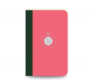 Flex Book - Flex Book Notebook Small Çizgili Defter Pembe 0566