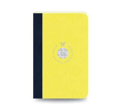 Flex Book Notebook Small Çizgili Sarı