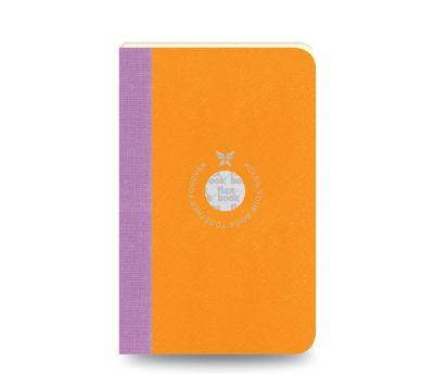Flex Book Notebook Small Çizgili Turuncu