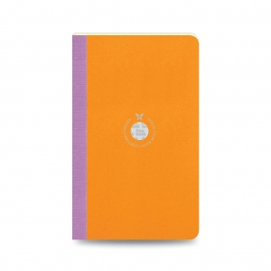 Flex Book - Flex Book Notebook Smartbook Medium Çizgili Defter Turuncu 2461