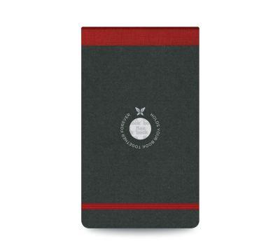 Flexbook Çizgili Notepad 10x17cm Kırmızı Perforeli
