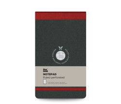 Flex Book - Flex Book Çizgili Notepad 10x17cm Kırmızı Perforeli 2416 (1)