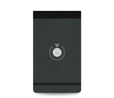 Flexbook Çizgili Notepad 10x17cm Siyah Perforeli