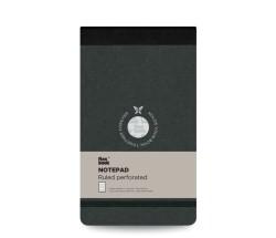 Flexbook Çizgili Notepad 10x17cm Siyah Perforeli - Thumbnail