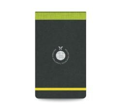 Flex Book - Flex Book Çizgili Notepad 10x17cm Yeşil Perforeli 2423