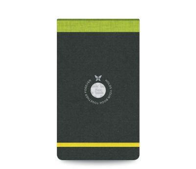 Flexbook Çizgili Notepad 10x17cm Yeşil Perforeli 2423