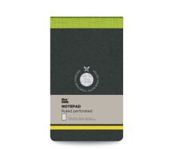 Flex Book - Flex Book Çizgili Notepad 10x17cm Yeşil Perforeli 2423 (1)