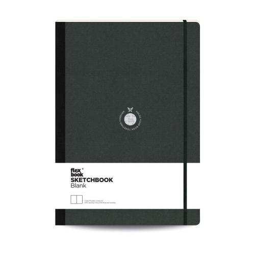 Flex Book SketchBook A4 Çizim Defter Siyah 1433