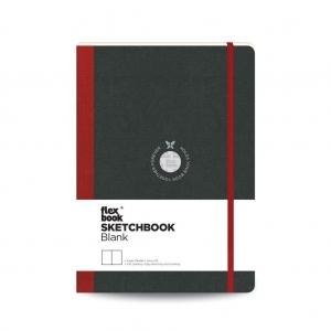 Flex Book - Flex Book SketchBook Medium Çizim Defteri Kırmızı 1778
