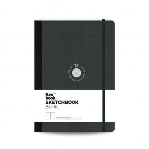 Flex Book - Flex Book SketchBook Medium Çizim Defteri Siyah 1440