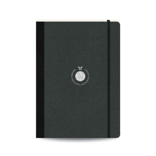 Flex Book SketchBook Medium Çizim Defteri Siyah 1440