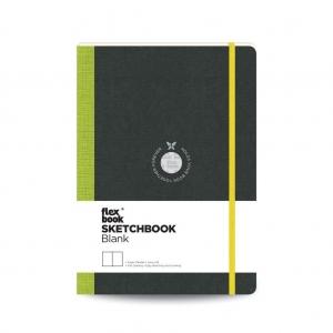 Flex Book - Flex Book SketchBook Medium Çizim Defteri Yeşil 1761