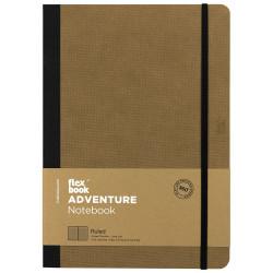 Flex Book - Flex Book Adventure Camel Çizgili Defter 17X24 cm 3291