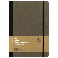 Flex Book - Flexbook Adventure Elephant Çizgili Defter 17X24 cm 3277