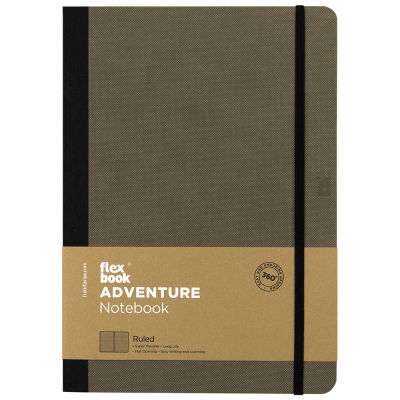 Flexbook Adventure Elephant Çizgili Defter 17X24 cm 3277