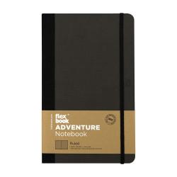 Flex Book - Flexbook Adventure Off-Black Çizgili Defter 13X21 cm