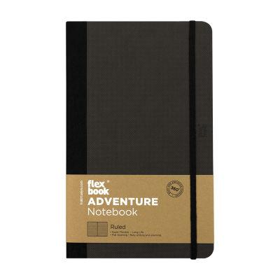Flexbook Adventure Off-Black Çizgili Defter 13X21 cm 3307