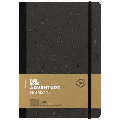Flexbook Adventure Off-Black Çizgili Defter 17X24 cm 3260