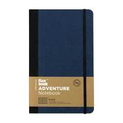 Flex Book - Flex Book Adventure Royal Blue Çizgili Defter 13X21 cm 3321