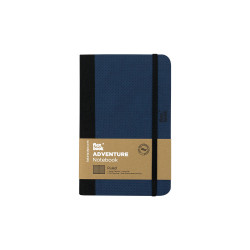 Flex Book - Flex Book Adventure Royal Blue Çizgili Defter 9X14 cm 3369