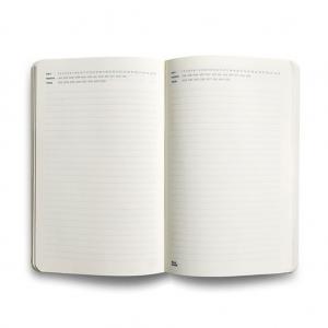 Flex Book - Flex Book Notebook Open Date Medium Çizgili Defter Siyah 1716 (1)