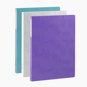 Foldermate - Foldermate Display Book 20'li Cepli Sunum Dosyası Ataşlı