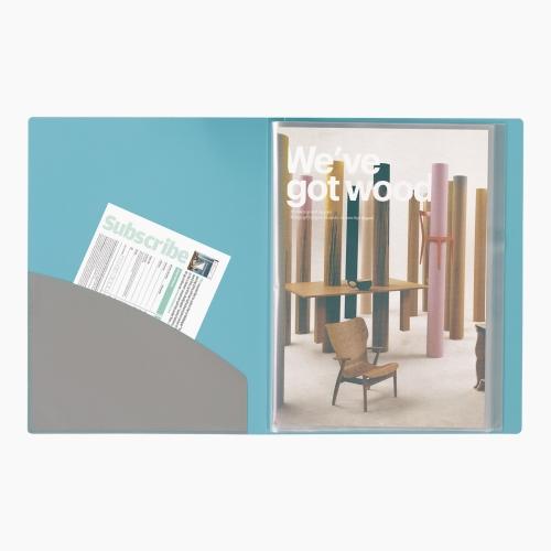 Foldermate Display Book 20'li Cepli Sunum Dosyası Ataşlı