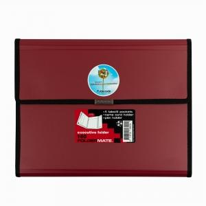 Foldermate - Foldermate Executive Organizer Klasör + Rhodia A4 Color Pad Çizgili Defter